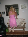 Ruth. Pink Dress Free Pic 18