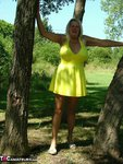 Adonna. Hot Yellow Dress Free Pic 2