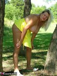 Adonna. Hot Yellow Dress Free Pic 10