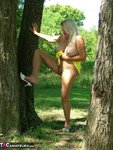 Adonna. Hot Yellow Dress Free Pic 13
