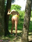 Adonna. Hot Yellow Dress Free Pic 14