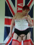 ValgasmicExposed. Spotty Basque and Stockings Free Pic 20