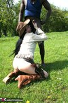 Foxielady. Black Outdoor BJ Free Pic 15