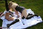 Foxielady. Horny Bi Fun Outside Pt4 Free Pic