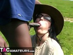 Foxielady. Outdoor Black BJ Pt2 Free Pic