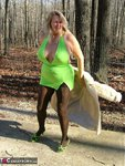 Adonna. Green Dress Free Pic 4