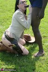 Foxielady. Outdoor Black BJ Pt3 Free Pic