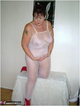 ValgasmicExposed. White Fishnet Body Free Pic