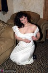 Reba. My New Satin Gown Free Pic 2