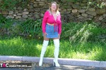 Adonna. White Boots Free Pic 1