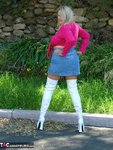Adonna. White Boots Free Pic 3