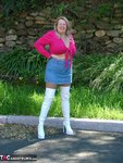 Adonna. White Boots Free Pic 4