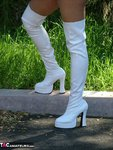 Adonna. White Boots Free Pic
