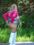 Adonna. White Boots Free Pic 13