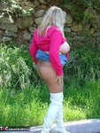 Adonna. White Boots Free Pic 19