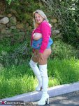 Adonna. White Boots Free Pic 20