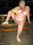 GrandmaLibby. Naked Picnic In The Park Free Pic 4