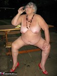 GrandmaLibby. Naked Picnic In The Park Free Pic