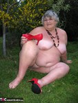 GrandmaLibby. Naked Picnic In The Park Free Pic 20