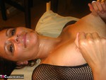 SubWoman. Fishnet & Big Dildo Free Pic