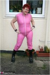 ValgasmicExposed. Pink Rubber Free Pic 3