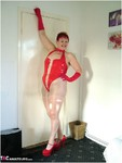 ValgasmicExposed. Rockin In Red Free Pic 15