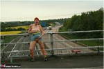 ValgasmicExposed. Motorway Flash Free Pic 1