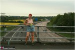 ValgasmicExposed. Motorway Flash Free Pic 10