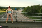 ValgasmicExposed. Motorway Flash Free Pic 11