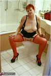 ValgasmicExposed. Red Stockings Free Pic 16