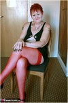 ValgasmicExposed. Red Stockings Free Pic 18