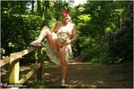 ValGasmic Exposed. In The Woods Free Pic 11