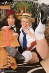 SpeedyBee. Two Naughty Skool Girls Free Pic 5