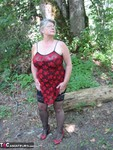 GirdleGoddess. MILF In The Woods Free Pic 2