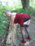 GirdleGoddess. MILF In The Woods Free Pic 6