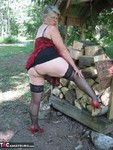 GirdleGoddess. MILF In The Woods Free Pic 9