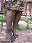 GirdleGoddess. Leopard Dress Free Pic