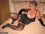 GirdleGoddess. Long Black Gloves Free Pic 9