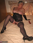 GirdleGoddess. Long Black Gloves Free Pic