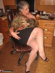GirdleGoddess. Office Girl Free Pic 2