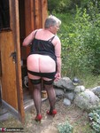 GirdleGoddess. Out House Piss Free Pic 4