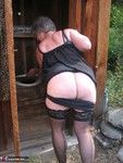 GirdleGoddess. Out House Piss Free Pic 5