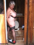 GirdleGoddess. Out House Piss Free Pic 13