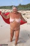 Grandma Libby. Red Towel Free Pic 14