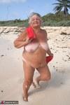 Grandma Libby. Red Towel Free Pic 15