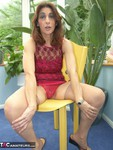 Jolanda. Red Dress Free Pic 3