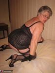 Girdle Goddess. Black Teddy Free Pic 20