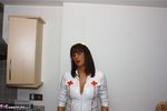 JuicyJo. Nurse JuicyJo treats her two patients Free Pic 1