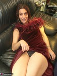 Jolanda. Crushed Velvet Dress Free Pic 6