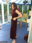 Jolanda. Crushed Velvet Dress Free Pic 10